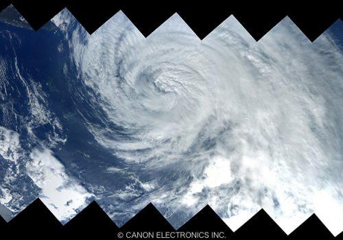 台風18号 朝鮮半島スティッチング