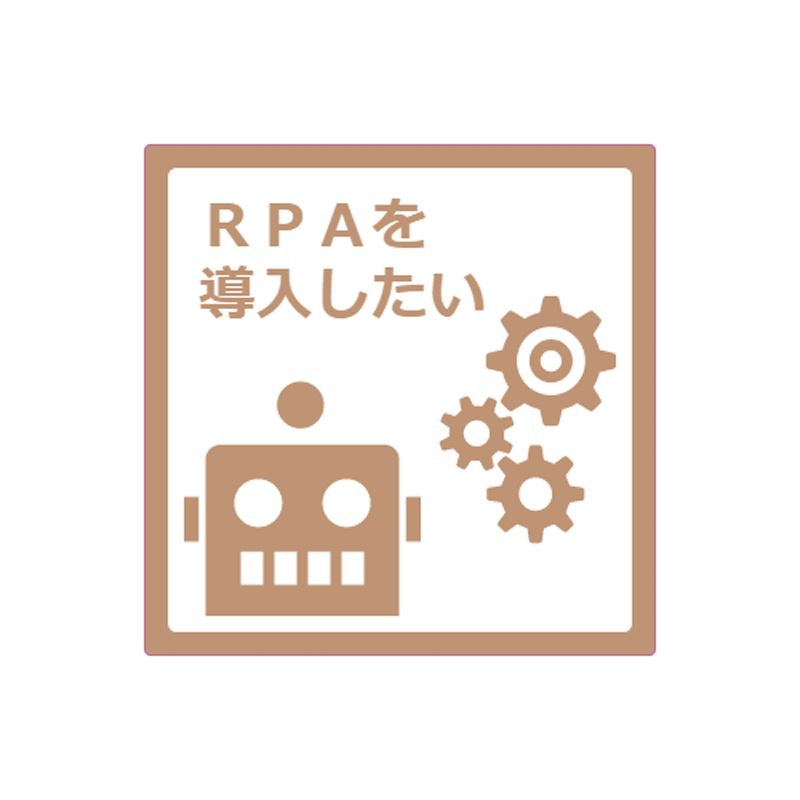 SML Brown – RPA適正診断サービス