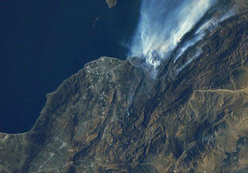 カリフォルニア(山火事)