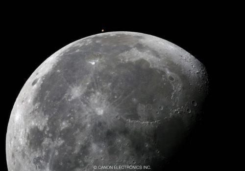 New 月と火星
