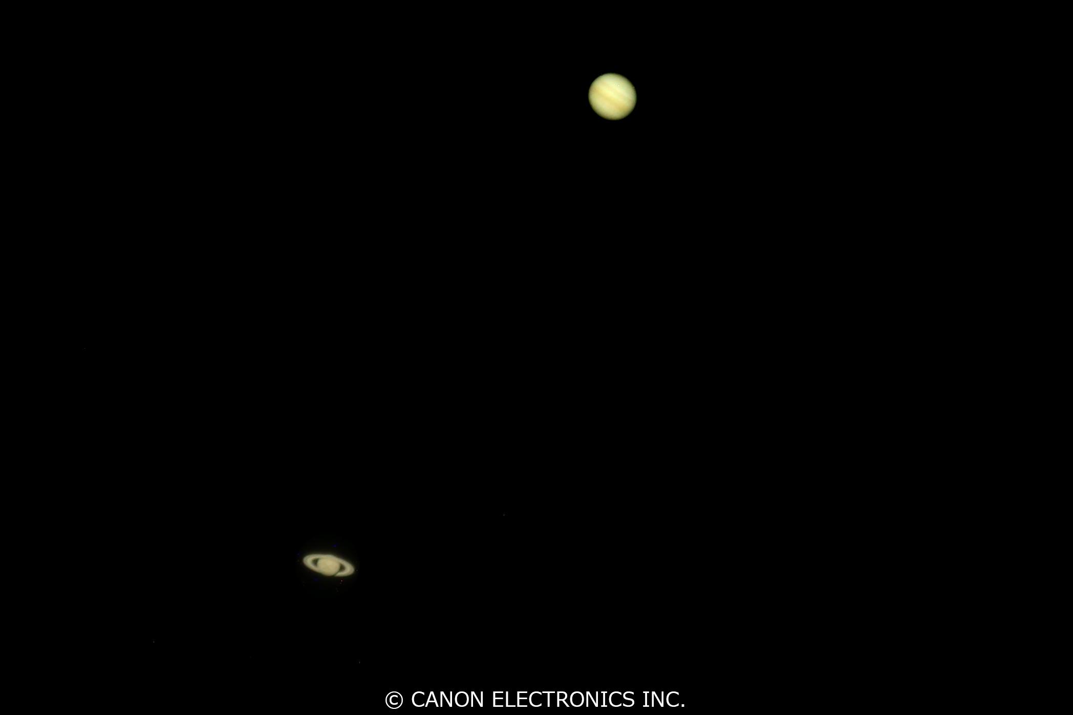 木星と土星